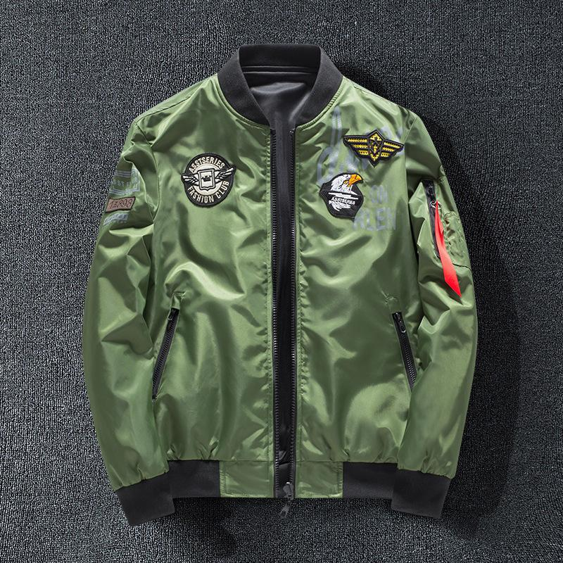 927c4d99f MA1 Men Winter Warm Military Airborne Flight Tactical Bomber Jacket Army  Air Force Fly Pilot Jacket Aviator Motorcycle Down Coat 8806