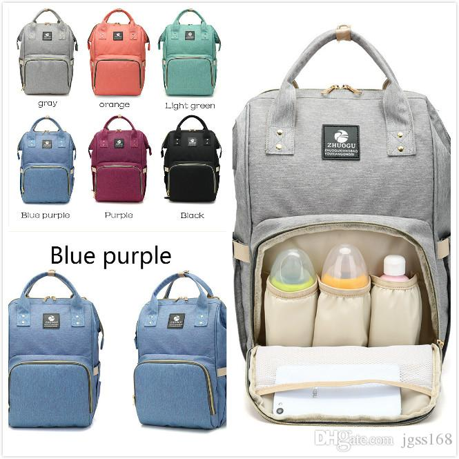 229e03ad0e4ca 2018 fashion mummy maternity nappy bag nappy bags for baby car nappy bags  large capacity baby diaper bag fashion