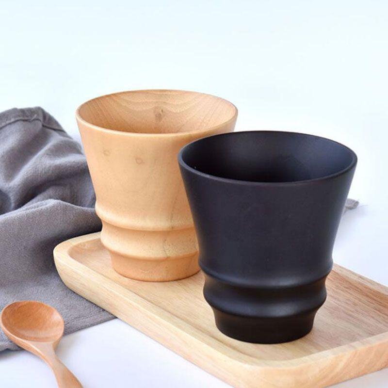 300ml Tazza di caffè Giuggiola naturale Tazza di legno Vino Birra Latte Tazza da tè bar da casa Accessori da cucina ZA6294