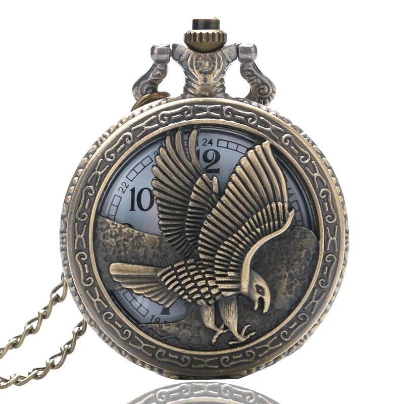 d4768affa52 Compre Relógio De Bolso Do Vintage Padrão De Coruja De Pavão De Animais  Steampunk Relógios Homens Relógio De Bolso De Quartzo Retro Para Homens  Mulheres ...