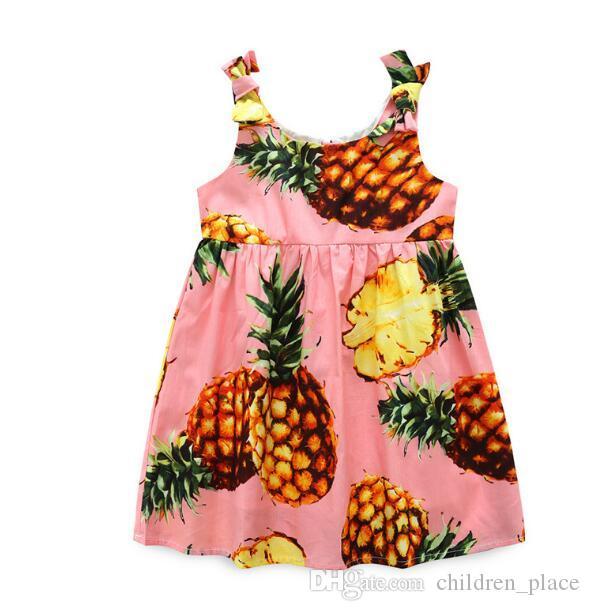 Generous 2018 Summer Newborn Kid Baby Boy Tops Black T-shirt Pineapple Shorts Pants Beach Outfit Summer Set Clothing Sets Boys' Clothing