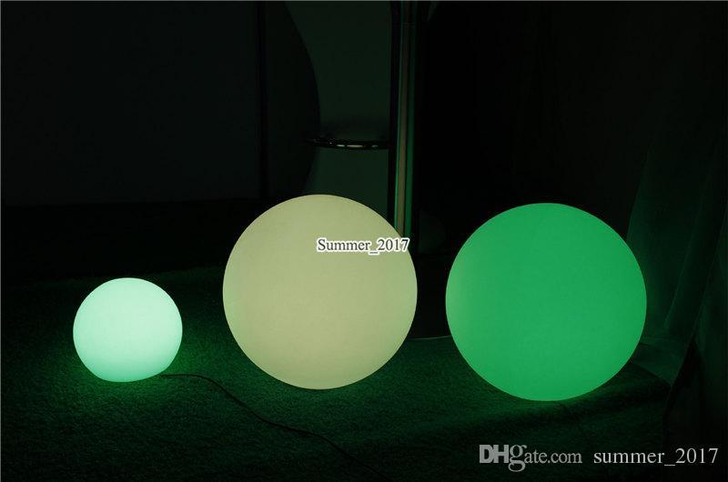 7 cores RGB Partido Magic Ball LED flutuante Decoração Piscina Lâmpadas Mobiliário Bola de Bilhar Luz IP68 Outdoor Bar tabela com remoto