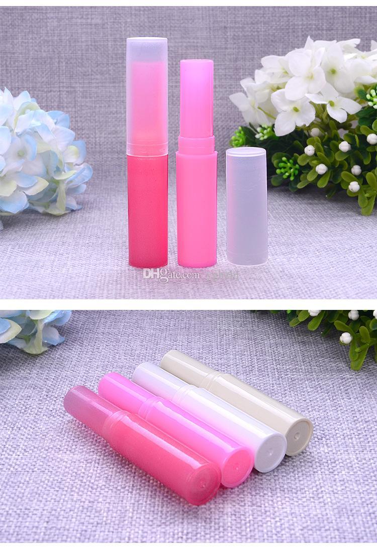 Toptan 4g Kore Ruj Tüp, Ruj Tüp, DIY Dudak Balsamı Tüp Kozmetik Ambalaj Tüp Şişeleri, Renk Variety, Ücretsiz Kargo