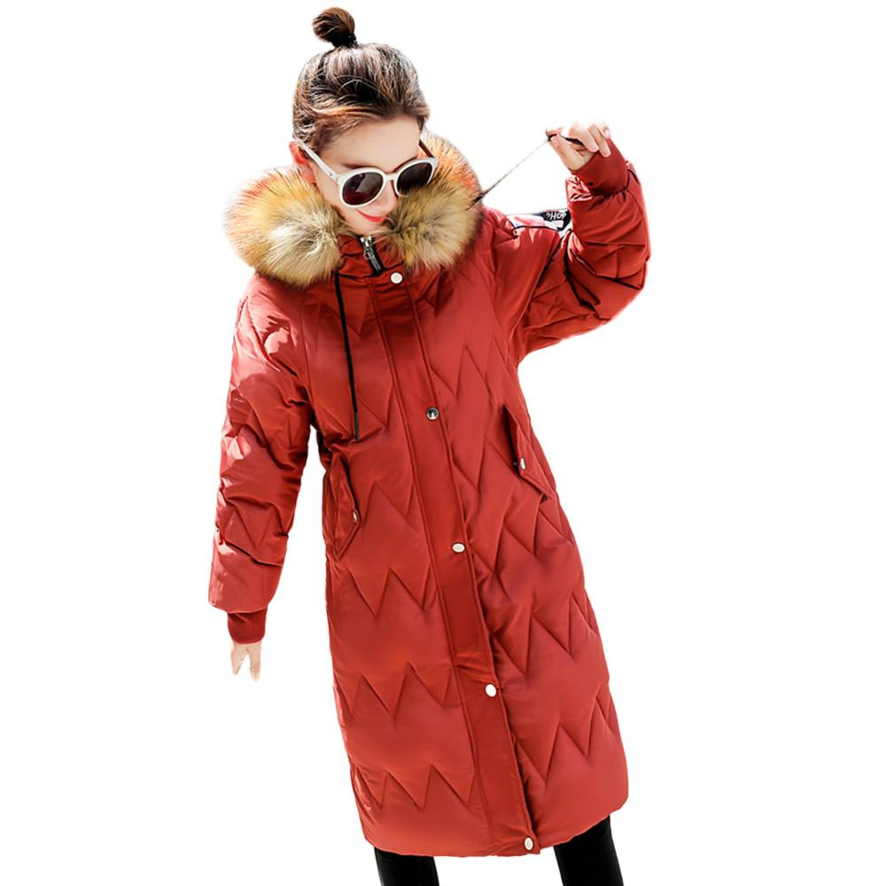chaussures de sport 0472d ccc2f ISHOWTIENDA vestes femme hiver 2018 manteau chaud fausse fourrure à capuche  épais veste chaude manteau long manteau femme hiver doudoune