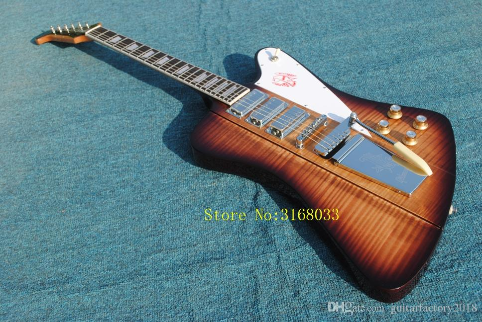 In Stock Custom Shop Firebird Electric Guitar With Long Verson