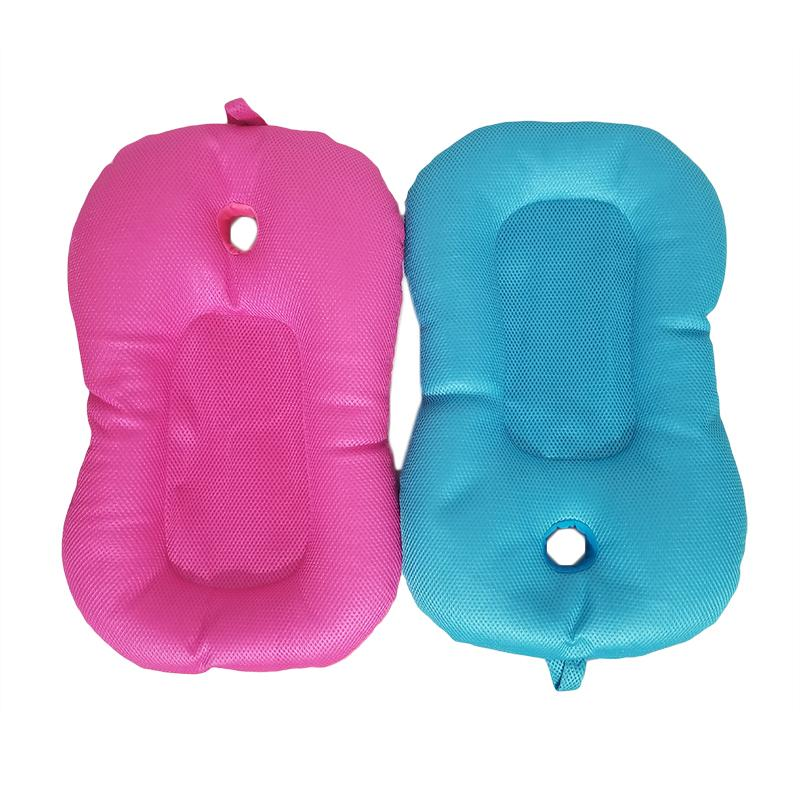 Foldable Soft Baby Bath Tub Pad Baby Newborn Infant Shower Bath Seat ...
