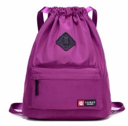 0287ccfdb4dd Waterproof Sport Bag Gym Bag Softback Sports Backpacks Women Men ...