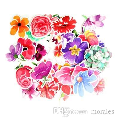 2018 mixed flowers stickers for laptop luggage car bicycle 2018 mixed flowers stickers for laptop luggage car bicycle motorcycle skateboard phone decor decal graffiti waterproof sticker from morales 302 dhgate mightylinksfo