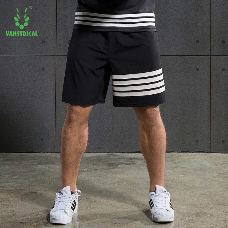 6afcc03873 Compre Calções De Corrida Dos Homens Treino GINÁSIO Fitness Shorts 7  Jogging Formação De Yvonna