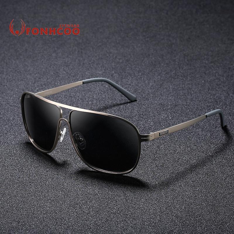 Compre Nuevas Gafas De Fonhcoo Cuadrado Hombres 2018 Sol Polarizado xeordCBW