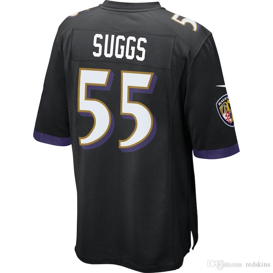 2018 2019 Mens Jersey Lamar Jackson Terrell Suggs Ray Lewis Custom  Baltimore Ravens Salute To Service American Youth Football Womens Jersey  5xl From ... 8c01ae6a7