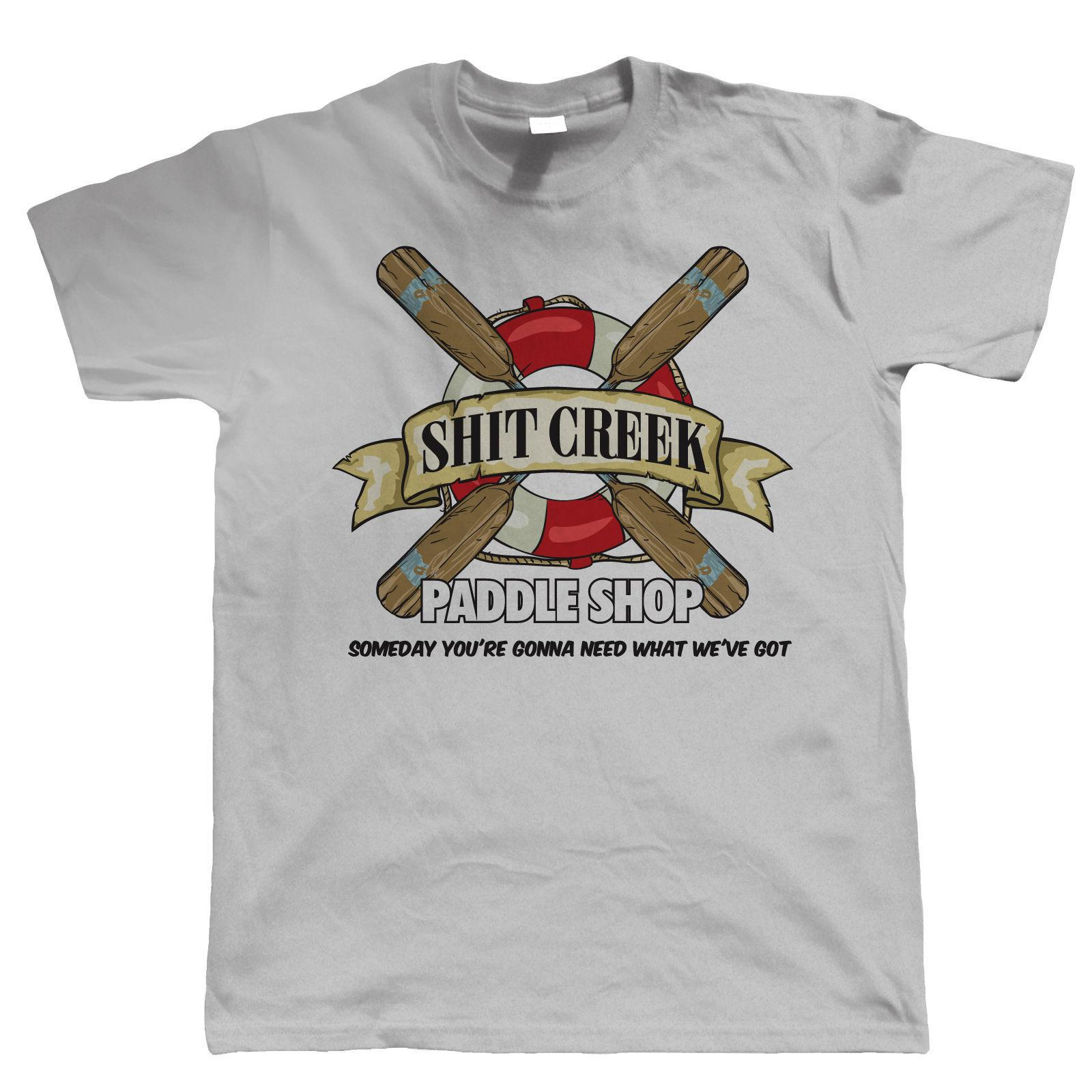 52d4ea0c6c ShitCreek Paddle Shop Funny Canoeing Kayaking T Shirt Gift For Dad Him  Printed Shirts Design Shirts From Populartees, $11.01  DHgate.Com