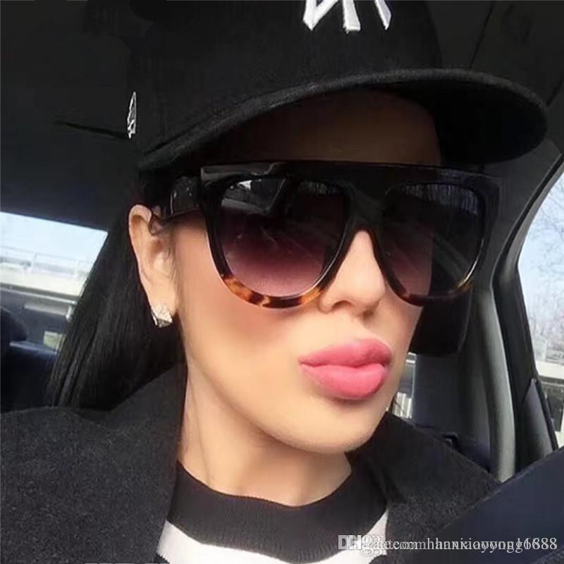 32efedaf5d Compre Moda Mujer Gafas De Sol Diseñador De La Marca Lujo Vintage Gafas De  Sol Grandes Gafas De Montura Completa Mujeres Diseñador Gafas De Sol A $1.9  Del ...