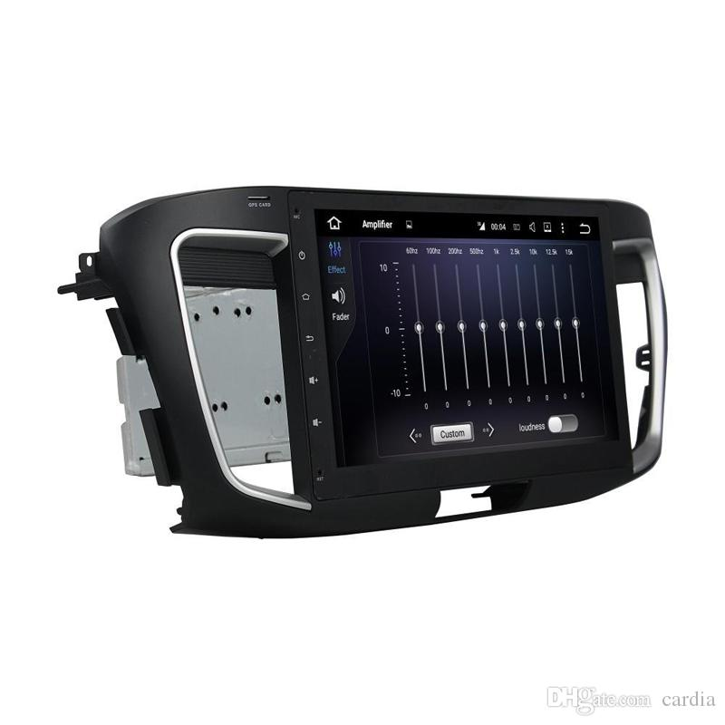 Factory price 10.1inch Octa-core 2GB RAM Andriod 6.0 Car DVD player for Honda Accord with GPS,Steering Wheel Control,Bluetooth,Radio