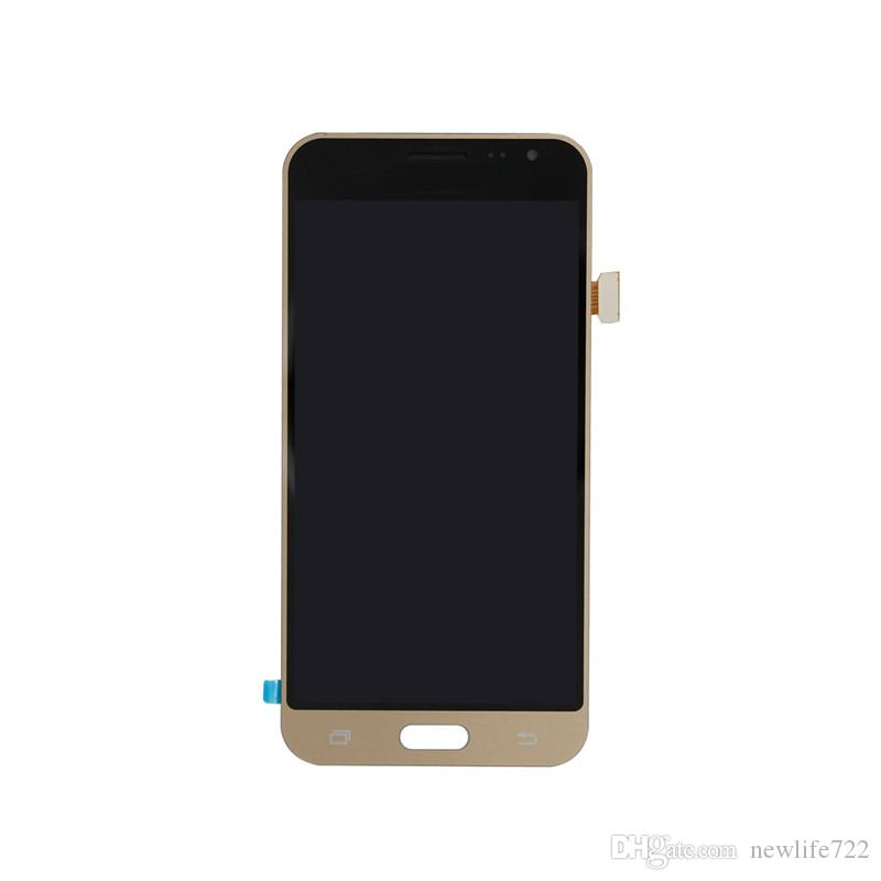Hot Sale For Samsung Galaxy J3 2016 J320 J320A J320F J320M J320FN Touch Screen Digitizer With LCD Display Assembly Support Brightness Adjust