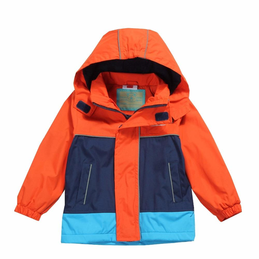 bbd6a7d12064 Waterproof Windproof Baby Boys Jackets Child Coat Warm Polar Fleece ...