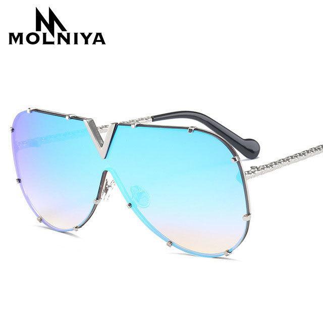 964d9e8c8aba Sunglasses Pilot Women Brand Designer Men Luxury Mirror Sunglass V Oversize  Clear Female 2018 Sun Glass Eyeglass Female Flat Top Online with  $15.86/Piece on ...