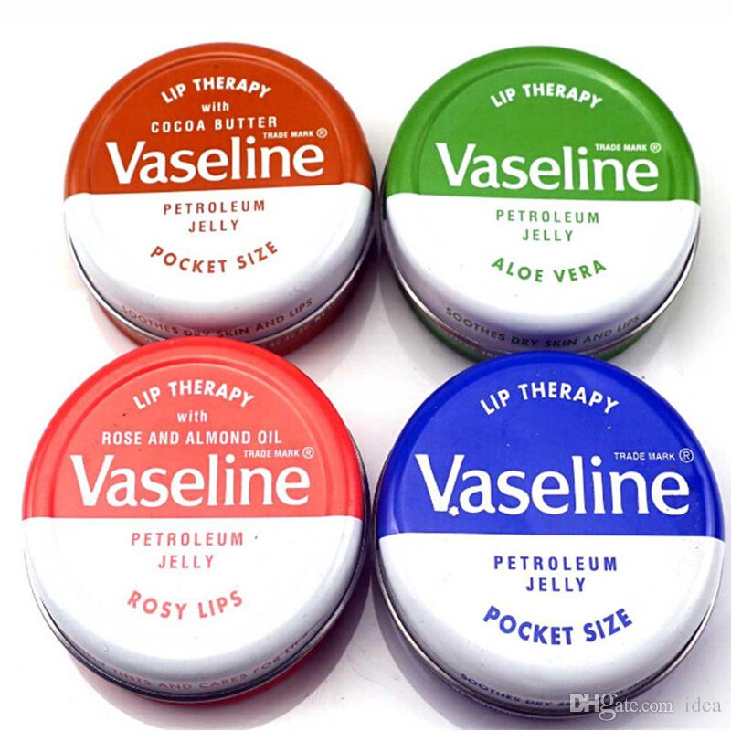 Hot Makeup brand Vaseline Lip therapy cocoa butter for soft glowing rosy lips Hydrating Petroleum jelly moisturizing Lip balm lip cream
