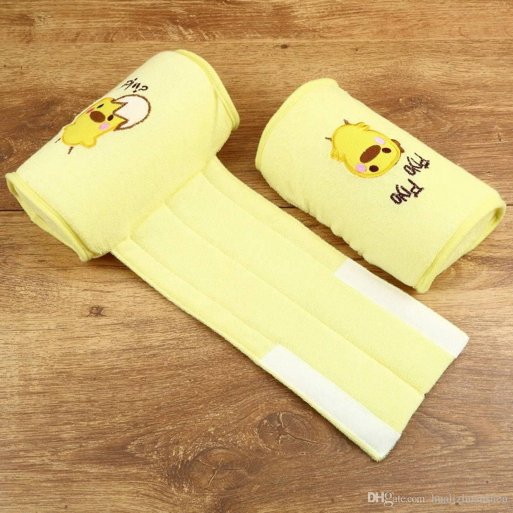 Infantil Do Bebê Da Criança Algodão Seguro Anti Roll Pillow Sono Plana Cabeça Posicionador Anti-rollover Recém-nascido Do Bebê Travesseiros