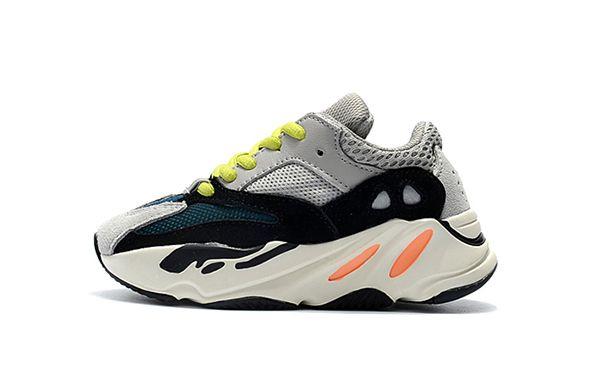 f42c489c77ecc Acheter Bébé Chaussures Enfants Kanye West 700 Chaussures De Course Garçons  Filles Sneaker Wave Runner 700 Chaussures De Sport Enfants Chaussures De  Sport ...