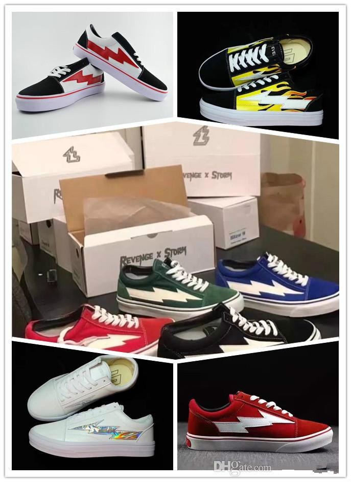 56757e3550332 Brand Designer REVENGE X STORM NEW New Unisex Low-Top Adult Men s ...
