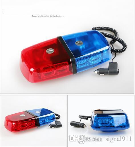 DC10v-30V de haute qualité, barre de lumière d'avertissement de voiture menée par 23W, lumière stroboscopique, lumières de police, lumières d'ambulance, imperméable