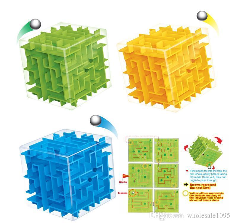 3d Mini Speed Cube Maze Magic Cube Puzzle Puzzle Game Cubos Magicos ...
