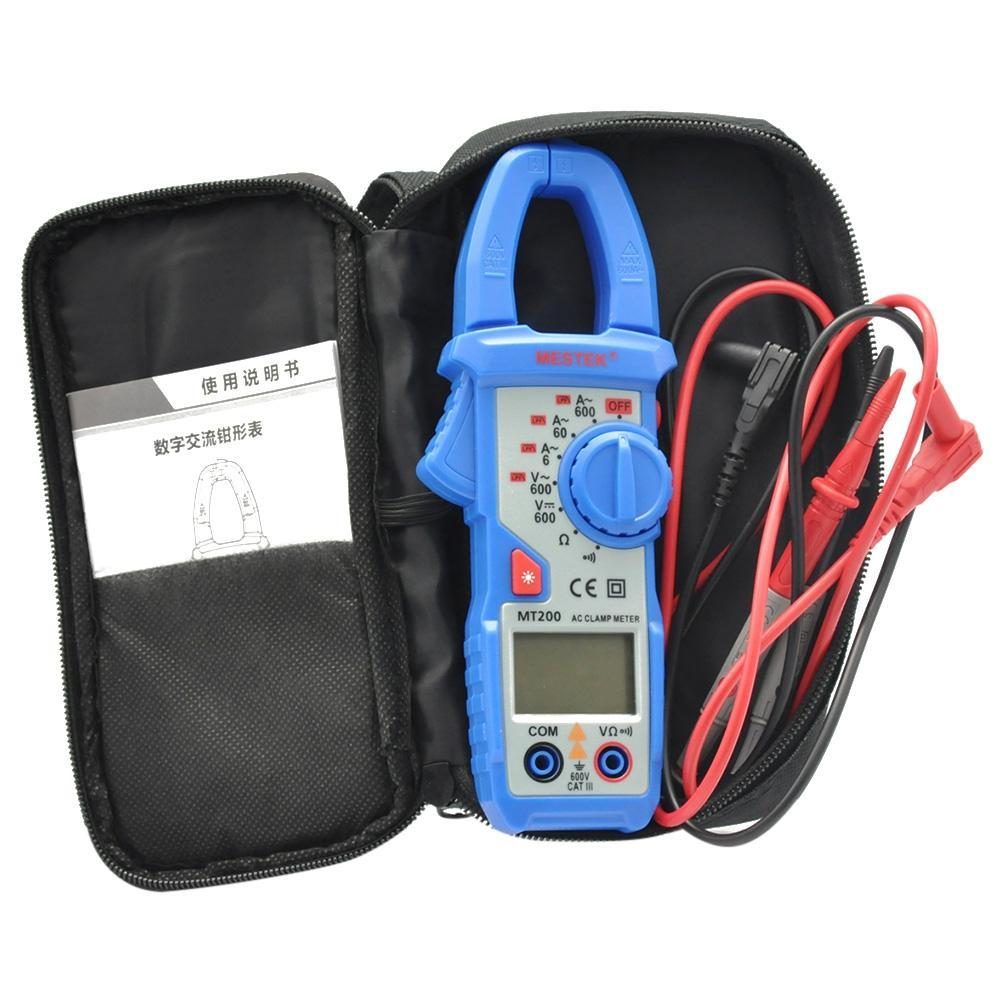 Mestek Digital Clamp Meter Backlight 6000 Counts Data Hold Ac Dc Converter Measuring Voltage Multimeter From Resistance For Machine Repairing Measure Tool Online With