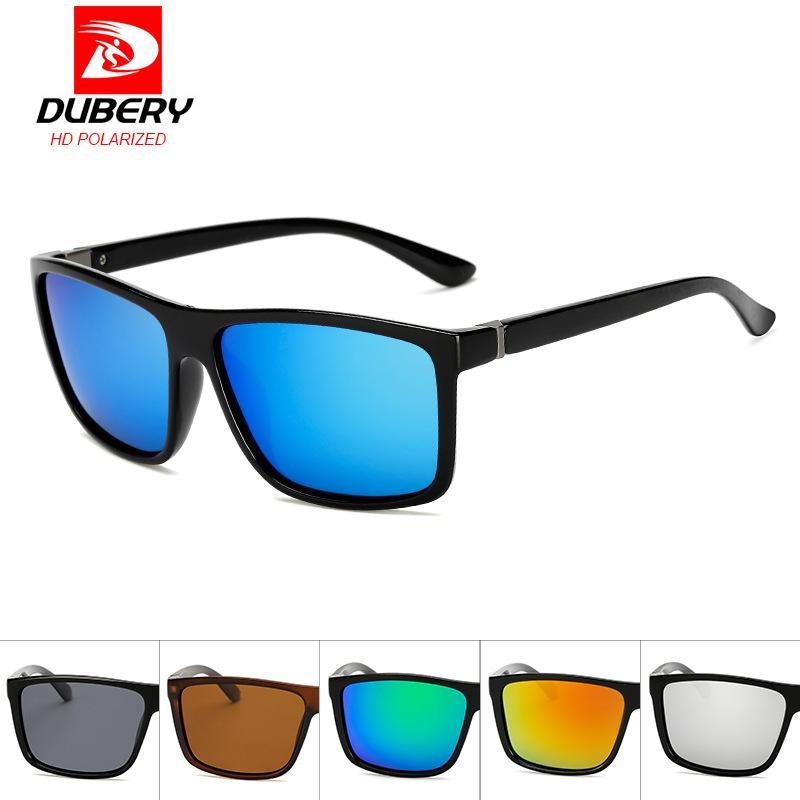 3e79ea53bb793 DUBERY New Polarized Men s Sunglasses Unisex Style Metal Hinges Polaroid  Lens Top Quality Original Oculos De Sol Masculino D1826 Oversized  Sunglasses Best ...