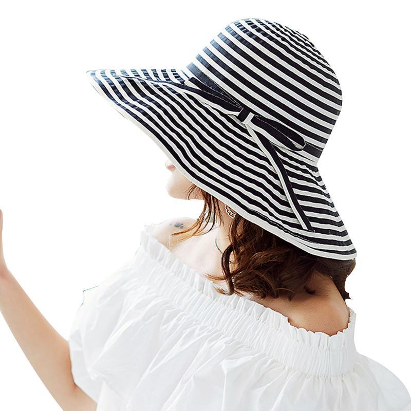 Compre Nuevos Sombreros De Playa De Ala Ancha Sombrero De Verano ...