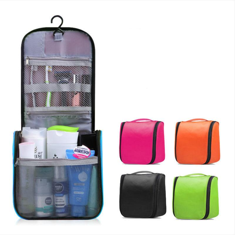 4a56d29f51 Makeup Bag Travel Organizer Hook Cosmetic Bag Case Women Men Large  Waterproof Necessaries Make Up Toiletry Cosmetics Storage Beauty Case  Makeup Kits From ...