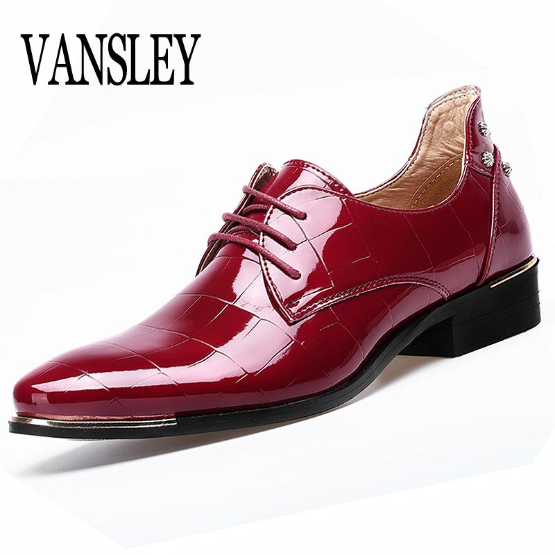 392b0e82 Compre Zapatos Para Hombre Tallas Grandes Zapatos De Punta Estrecha Hombre  Zapatos De Vestir Rojos Zapatos Formales Homme Hombre Vestido De Italia  Zapatos ...