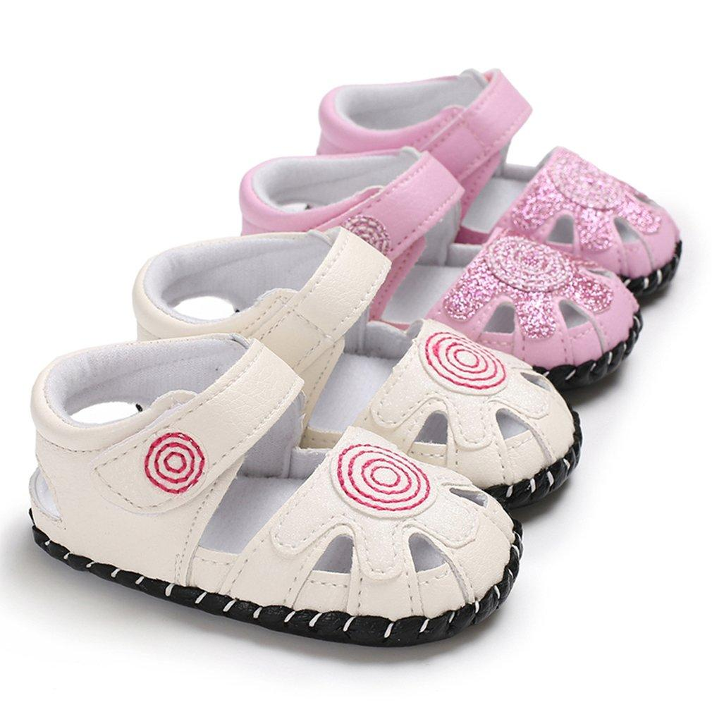 690e7462f4ec 2018 Spring And Summer Toddler Baby Shoes Sunflower Girls Sandals Lighted  Soft Soled Princess Shoes Casual Leisure Daily Wear Slippers For Toddler  Boys Kids ...