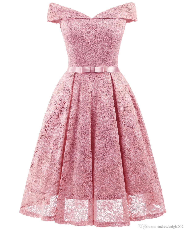 2019 Fashion Women Vintage Dress Cocktail Dress For Party