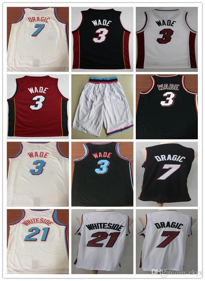 3344491f9 NCAA 2018 Men City Shorts 3  Dwyane Wade 21  Hassan Whiteside Jersey ...