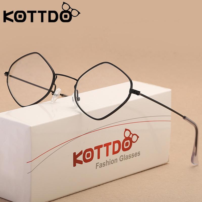 5055a8466 Compre KOTTDO Óculos Mulheres Retro Óculos De Leitura Quadro Homens Óculos  Óptico Losango De Grau Femininos Gafas De Newcollection, $25.93 |  Pt.Dhgate.Com