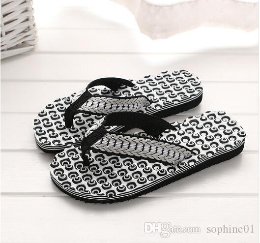 31b1aa9b6da59 Summer Comfortable Massage Flip Flops Shoes Sandals Foot Massage ...