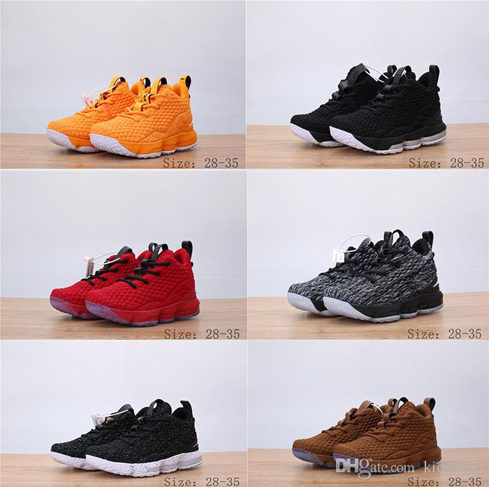b89bb4d0339 ... coupon for boy girl lebron 15 fruity pebbles basketball shoes lebron  shoes griffey outdoor shoes james