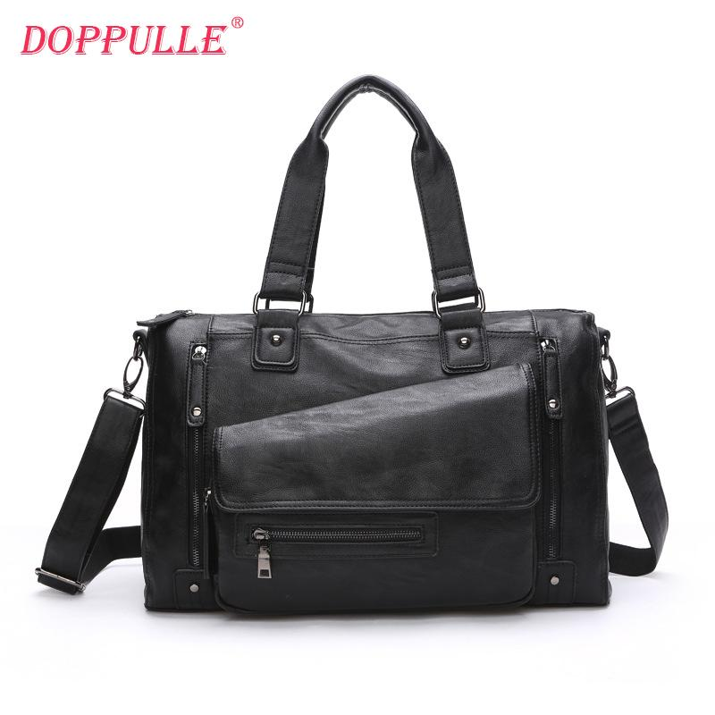 Fashion Genuine Leather Men S Casual Travel Bag Luggage Travel Bag Man Carry  On Leather Duffel Weekend Big Tote Handbag Suitcases For Kids Mens Travel  Bags ... 54934a002993e