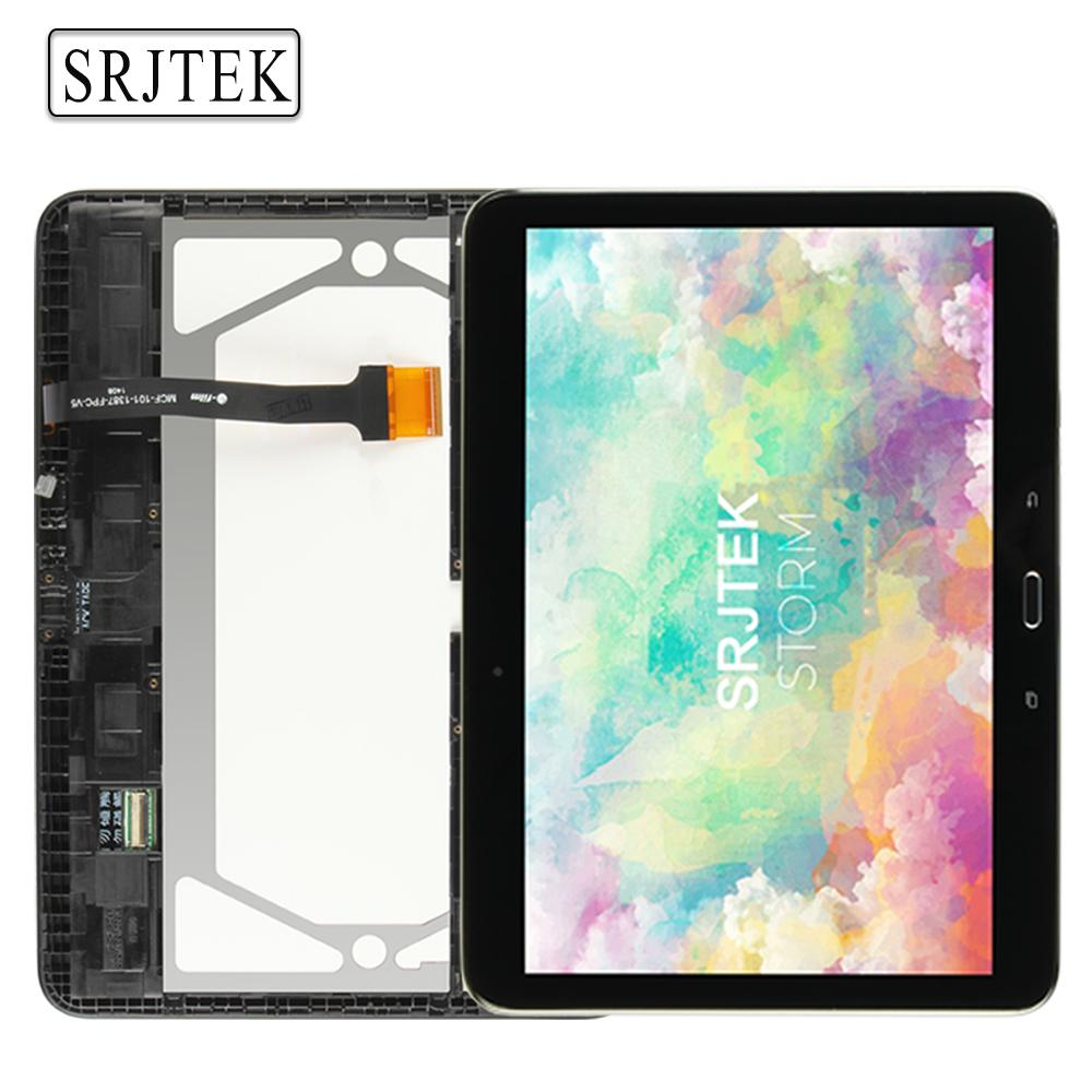best cheap 59d57 af730 For Samsung Galaxy Tab 4 10.1 T530 T531 T535 Tablet PC LCD Display Screen  With Touch Glass Digitizer Full Assembly With Frame