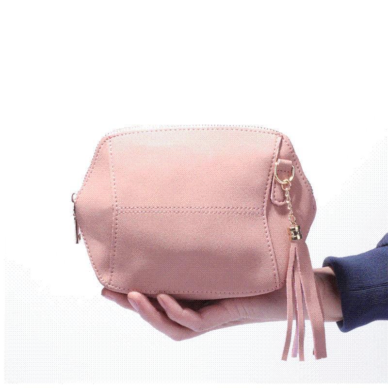 a9d53b1d3d0d Fringe Crossbody Bag Women Suede Clutch Bag Girl Fashion Messenger Shoulder  Handbags Ladies Beach Holiday Tassel Bags Ladies Purses Handbag Wholesale  From ...