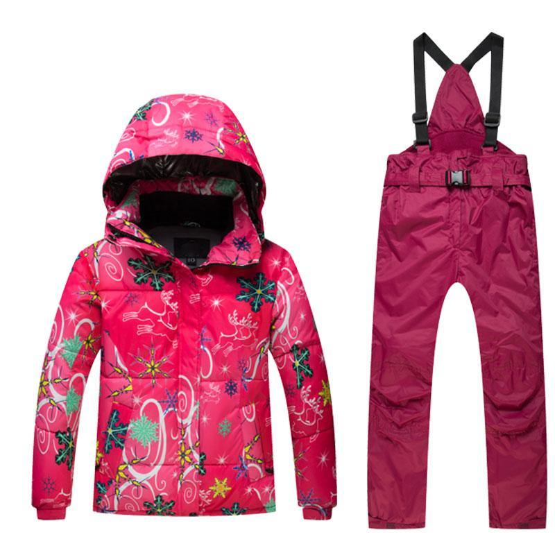 c2e750ed2 2019 Outdoor High Quality Kids Ski Suit Children Windproof ...