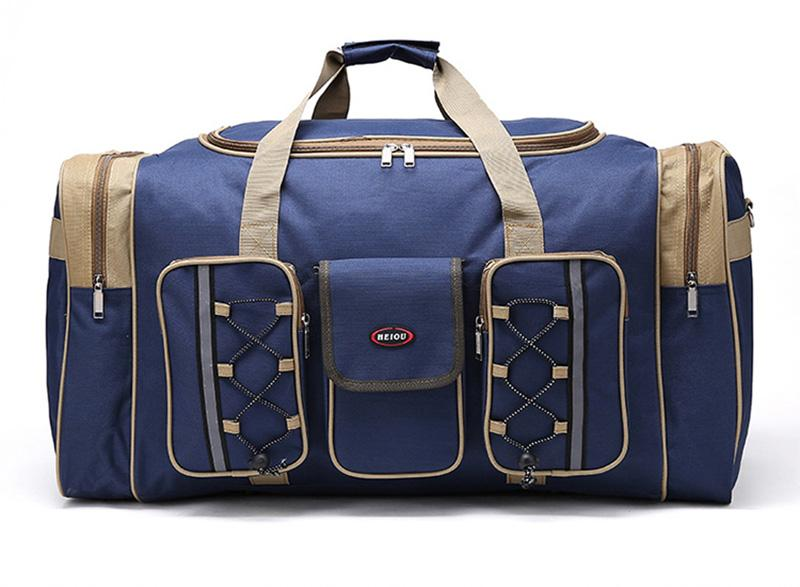 Navy Blue Custom Durable Multi Functional Travel Luggage Bag Duffle Bag  Promotional Gift Wheeled Duffle Bags Carry Bags From Snailhome,  56.39   DHgate.Com 4644e9b543