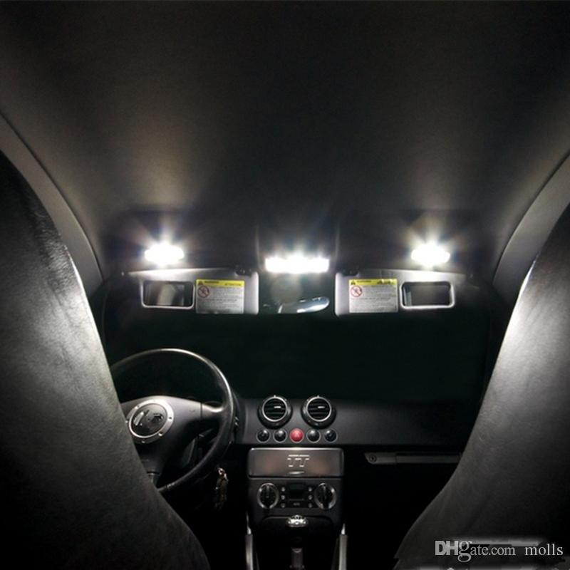 Car Parts Bulbs Leds Bulb Mirror Led White Canbus Car Inside Light