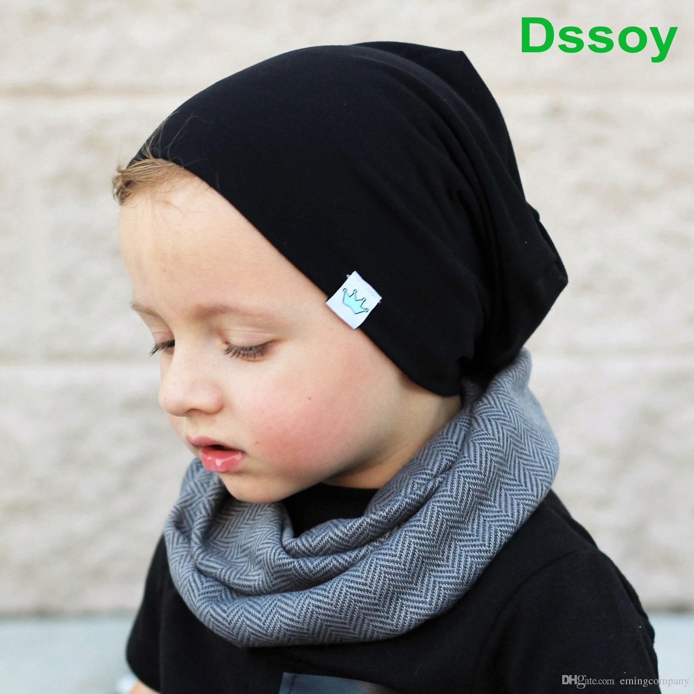 Designer Children Cotton Winter Beanie Knit Beanies Baby Fancy Head Ear  Warmer Slouchy Snow Cap For Kids Knitted Gorro Plain Hair Bonnet Crochet  Beanie ... 629e82440b3