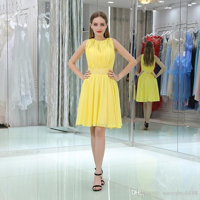 Simple Yellow Dresses