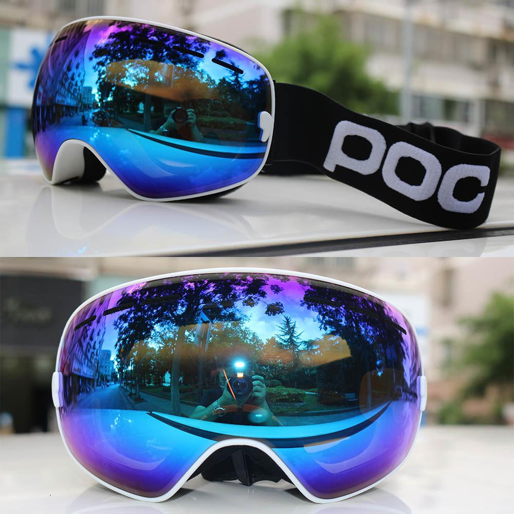 26d1a41adce 2018 New Professional Ski Goggles Snowboard Men Women Double Layers ...