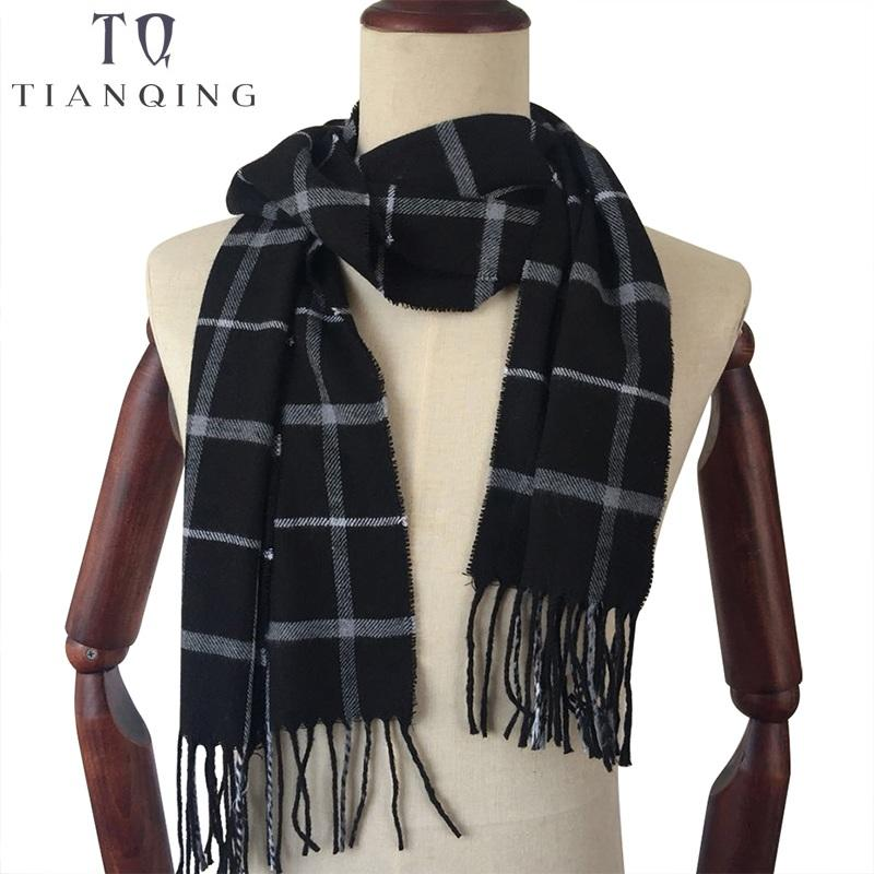 b0059884f9eb2 TIAN QIONG Women And Men Scarf Winter Autumn Fashion Scarves ...