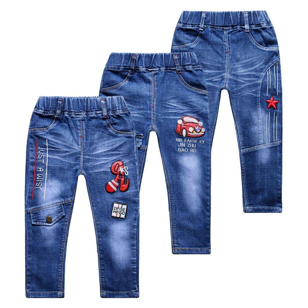 5cb081b9c90 2018 Spring Fashion Baby Boys Jeans For Kids Children Clothing Summer Boy  Denim Straight Jeans Casual Pants Trousers 2 7 Year 16 Slim Boys Jeans Jean  Shirts ...