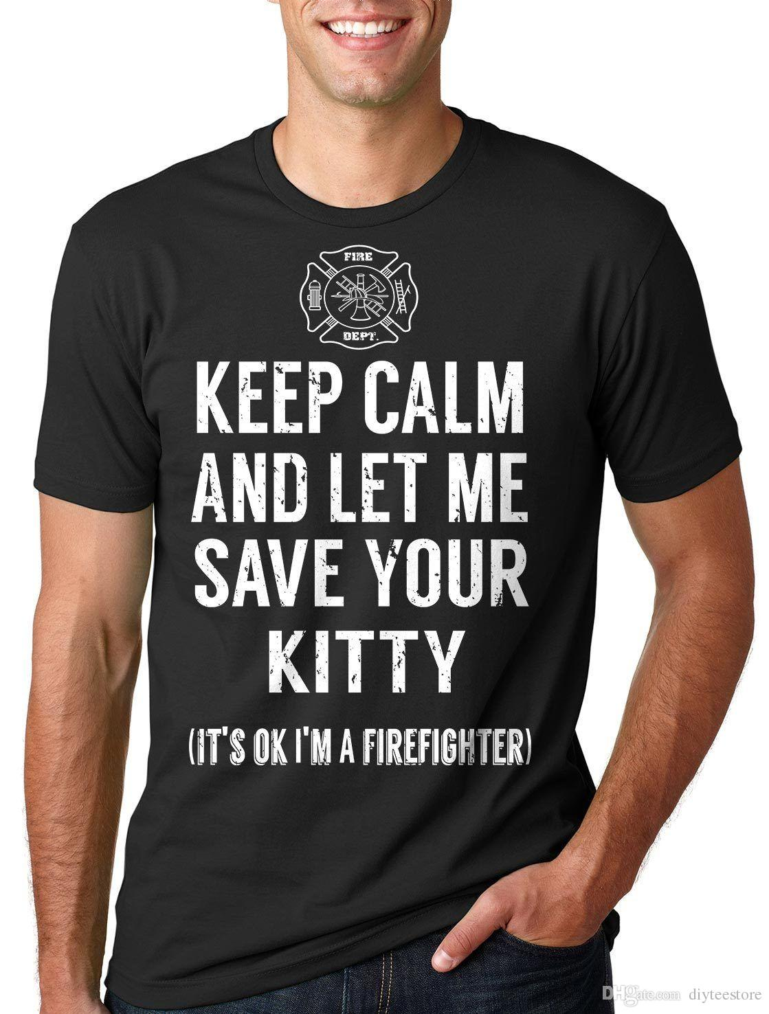 Firefighter T Shirt Designs | Gift For Firefighter T Shirt Fire Brigade Funny Shirt For Gift For